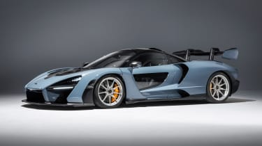 McLaren Senna - grey side