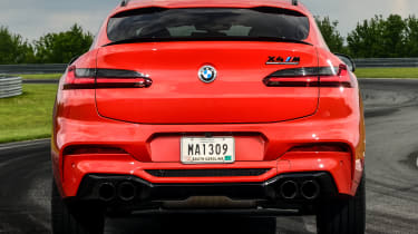 BMW X4 M Competition - rear static