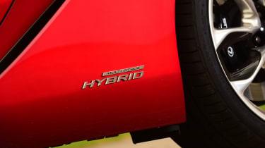 Lexus LC 500h - side Hybrid badge