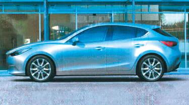 Leaked Mazda 3 profile