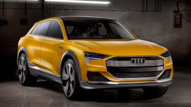 Audi h-tron concept - front quarter