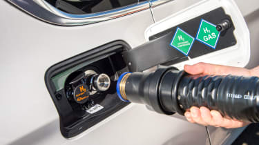 BMW 5 Series GT Hydrogen Fuel Cell - pump