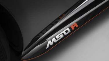 McLaren MSO R decal