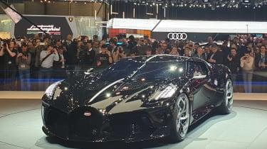 Bugatti La Voiture Noire - Geneva front static