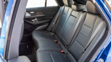 Mercedes GLC 400 d Coupe - rear seats