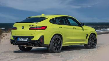 BMW X4 M - rear static