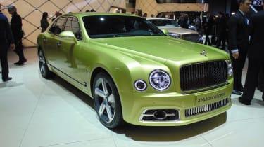Bentley Mulsanne Speed - Geneva show front