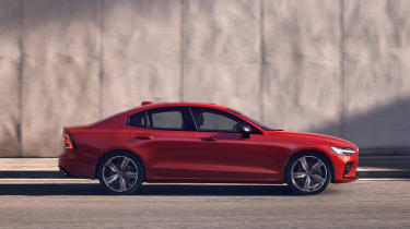 Volvo S60 - side static