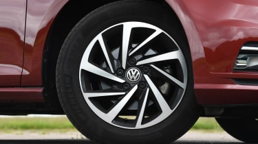 VW Golf wheel