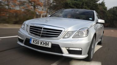 Mercedes E63 AMG front tracking