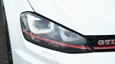 Volkswagen Golf GTI Clubsport - front light detail