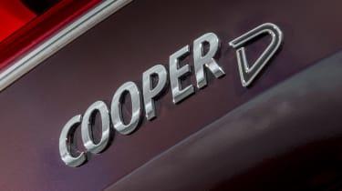 MINI Cooper D Clubman 2015 badge