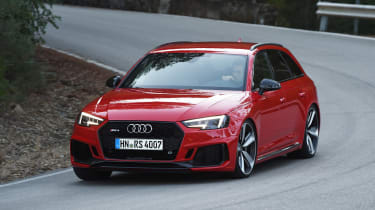Audi RS 4 - front