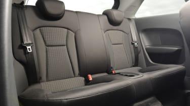 Audi A1 quattro rear seats