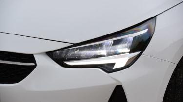 Vauxhall Corsa - front lights