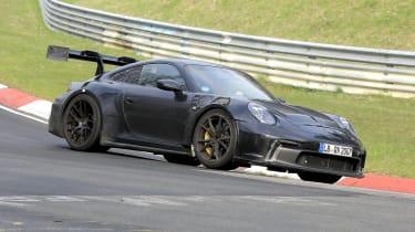 Porsche 911 GT3 RS spy 2021 - front