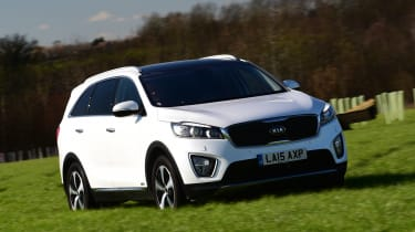 Kia Sorento long-term test - front tracking 2