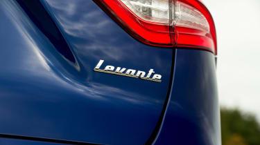 Maserati Levante - rear light detail