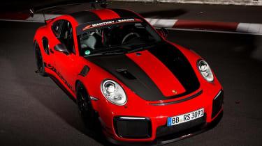 Porsche 911 GT2 RS MR front 3/4