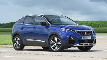 Used Peugeot 3008 Mk2 - front