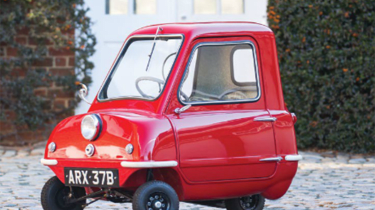 Peel P50 front three quarter