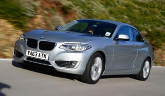 BMW 220d 2014 front tracking