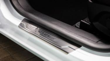 Ford Fiesta Vignale - sill badge