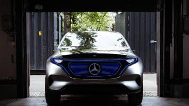 Mercedes EQ Concept - full front