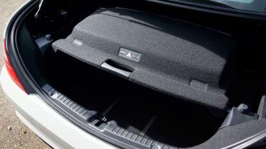 Mercedes SLK 250 CDI boot