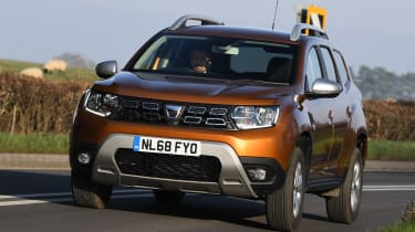 Dacia Duster: long term test review - front cornering