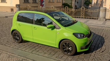 Skoda Citigo - above
