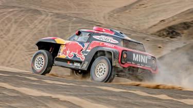 Dakar Rally - rear