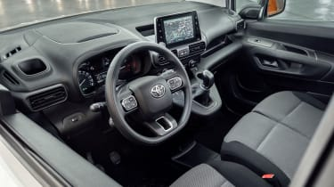 Toyota Proace City van - interior