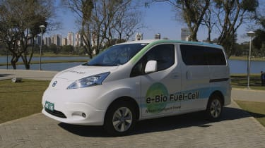 Nissan e-Bio Fuel Cell prototype vehicle front