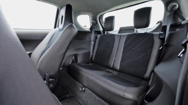 iQ rear seats