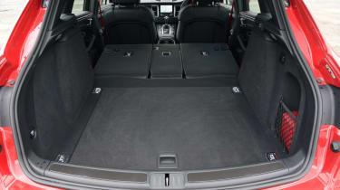Porsche Macan GTS - seats folded boot