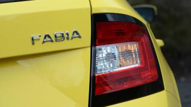 Skoda Fabia Estate 2015 badge