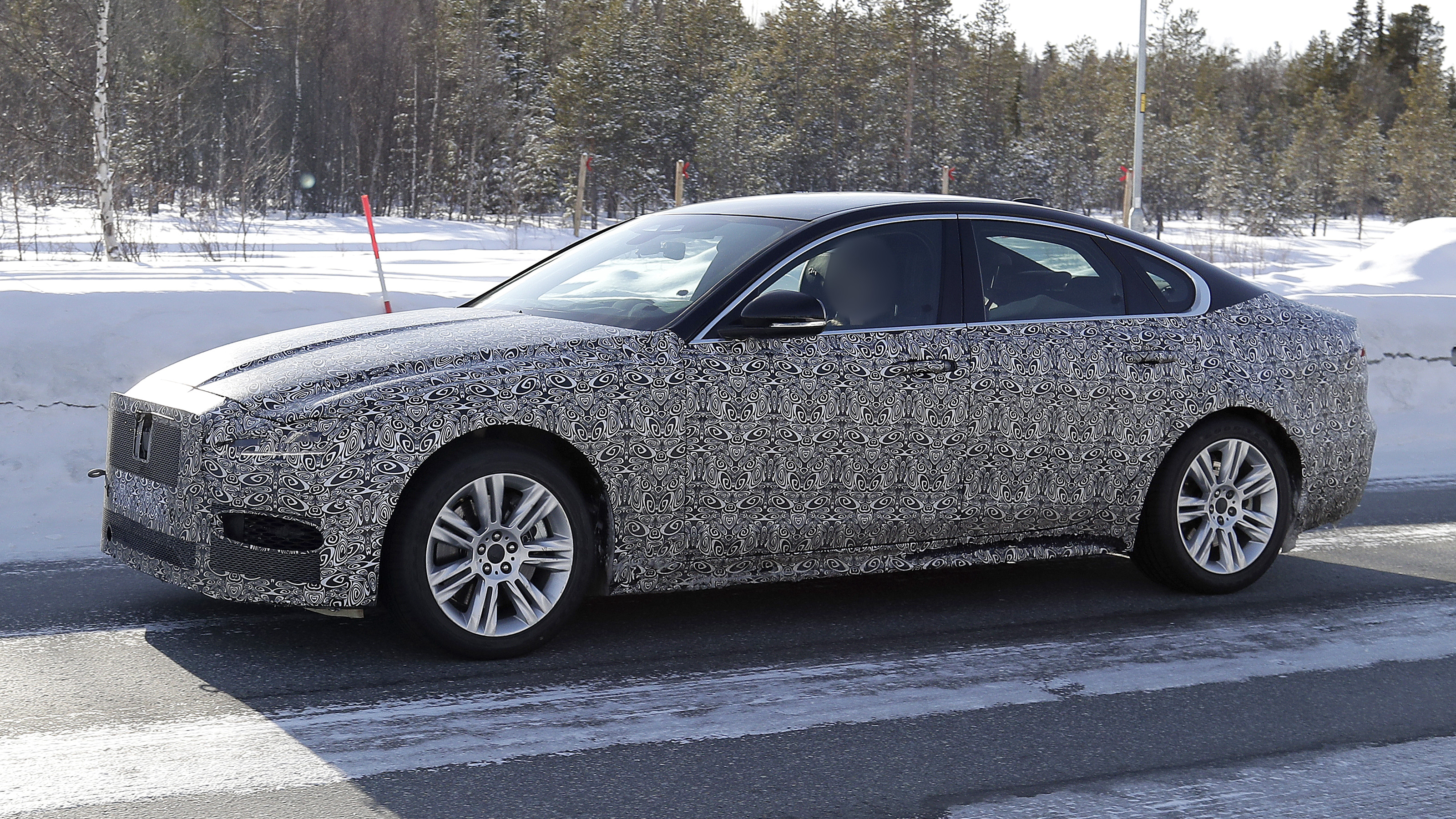New Jaguar XF spotted ahead of 2020 launch   Auto Express