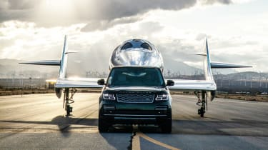 Land Rover Virgin Galactic - full front