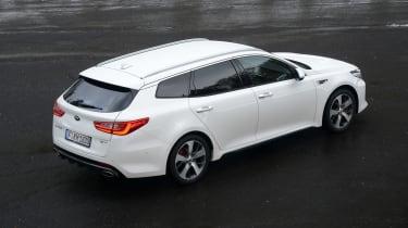 Kia Optima GT - rear static
