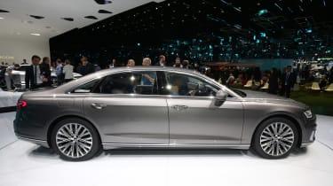 Audi A8 - Frankfurt side