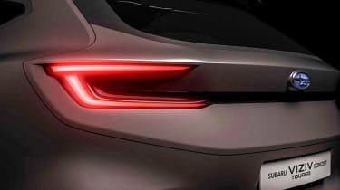 Subaru Viziv Tourer concept - teaser