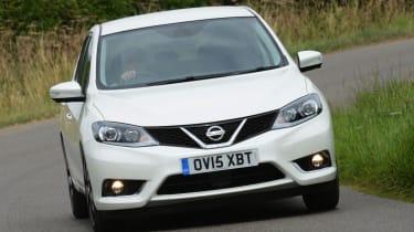 Nissan Pulsar - front cornering