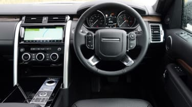 Land Rover Discovery - dash