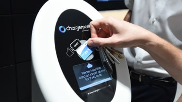 Electric Vehicle Experience Centre - charging card