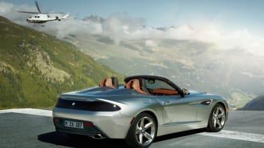 BMW Z4 Zagato rear