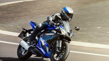 Yamaha YZF-R125 track