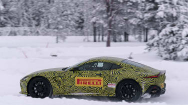 Aston Martin Vantage prototype - side action