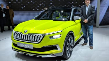 2018 Geneva Motor Show stars - Skoda Vision X John McIlroy