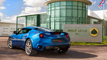 Lotus Evora Hethel Edition 400 - hi res rear quarter